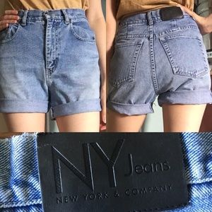 Vintage high rise mom jean cut off shorts 6